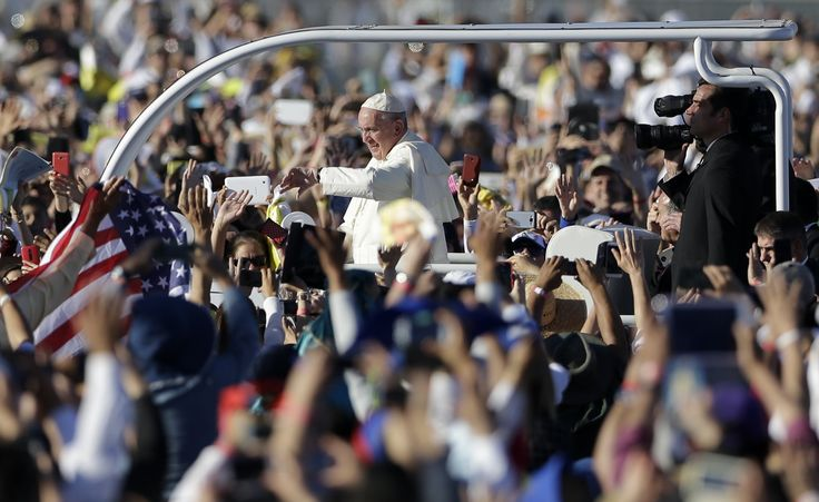 Pope Francis ends his Mexico tour praying for migrants at the U.S. border