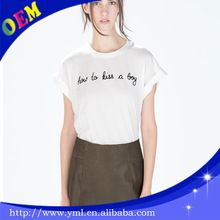 custom design women t shirt printing with high quality - short sleeve  best buy follow this link http://shopingayo.space