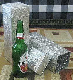 Aluminum Handicrafts - Wine box