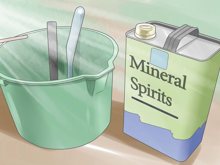 How do you dispose of mineral spirits?