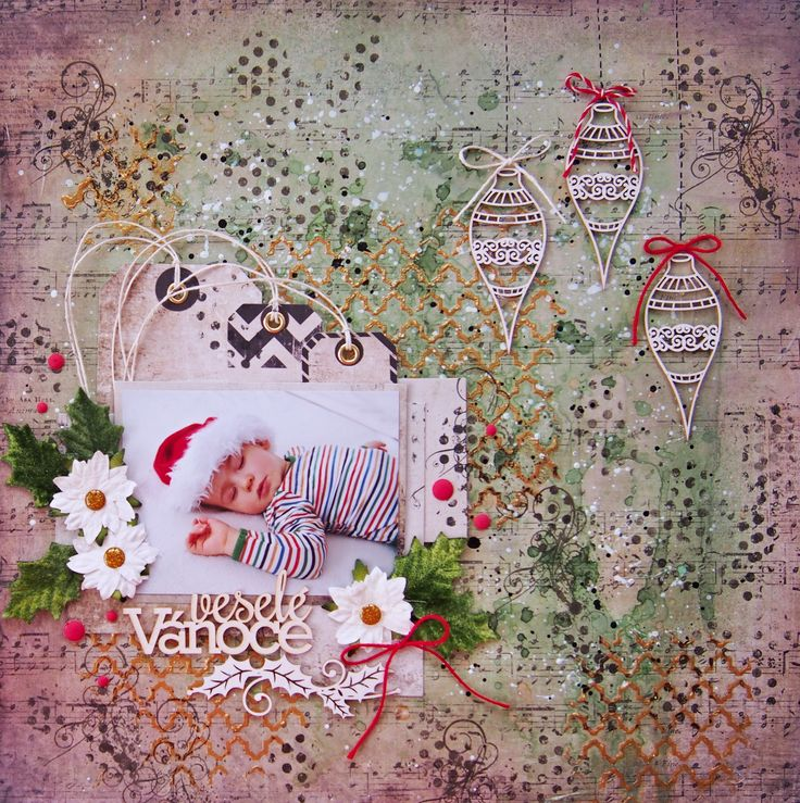 Layout Merry Christmas