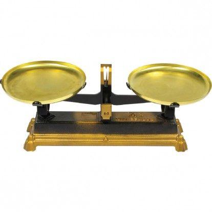 Balance mécanique Roberval - Laiton - Portée 5 kg