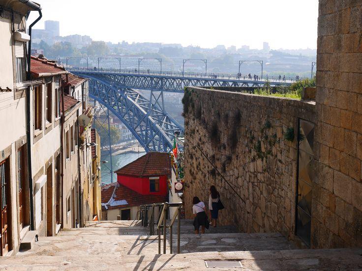Porto, ponte Dom Luis, photo prise par Valérie Coutrot.