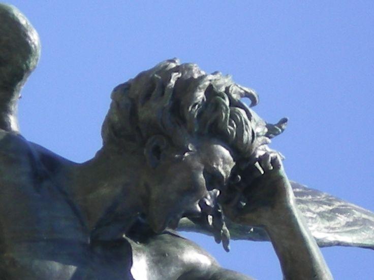 El àngel caído. Parque del Retiro. Madrid.