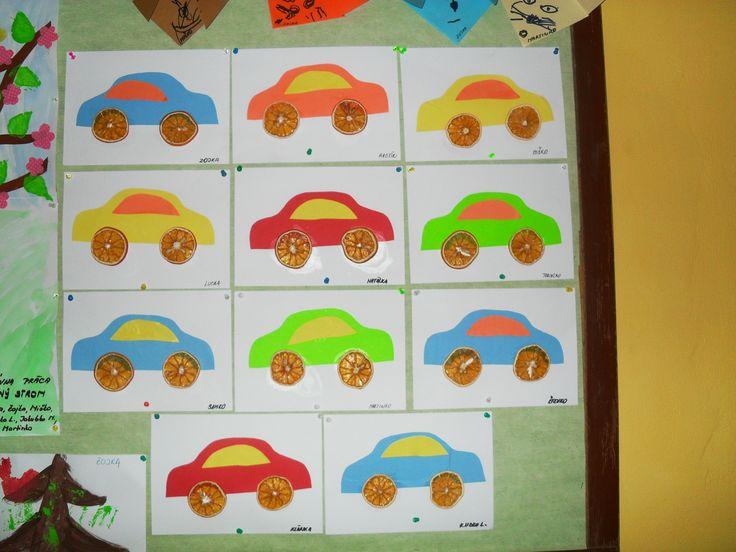 Auto - kolesá z pomarančov