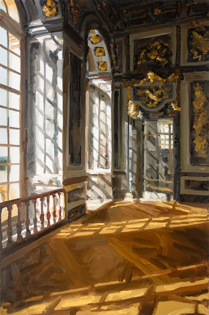 JAN DE VLIEGHER - Versailles 2008 - Window Series...despite the controversy over the use of photography in art over the decades, for me it is at times essential...shifting light and time can spoil the effects that you wish to capture...and this picture is a good example. I would not criticize the artist if he used photography...the end result is worth all the potential criticism...