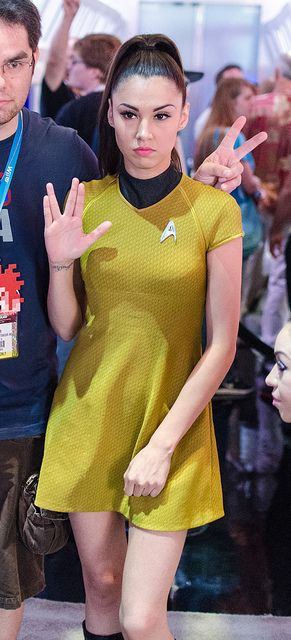 Star Trek cosplay model at E3 2012 | Flickr - Photo Sharing!