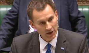 Jeremy No-Mates - NHS pay is least of Hunt's problems – is 'Hard Brexit means people fleeing UK' in his briefing a possible hostile question, or an answer he should read out?