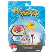 Pokémon Throw 'n' Pop Pokéball Pikachu