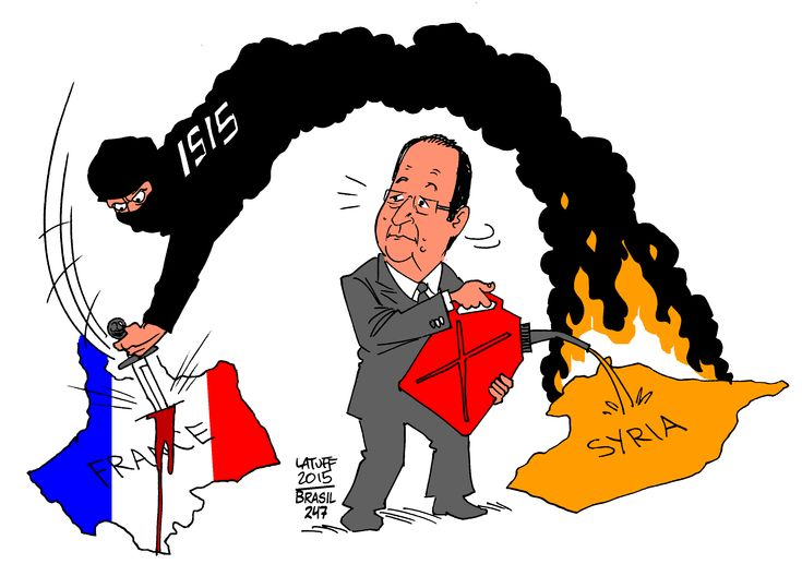 Hollande, Syria, Paris Shootings | 13 de Noviembre de 2015