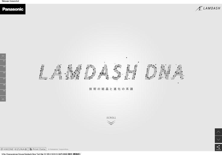 LAMDASH DNA | メンズシェーバー ラムダッシュ | Panasonic
