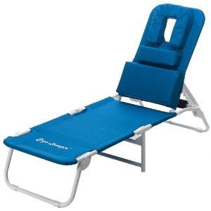 Lay Face Down Ergo Lounger Sport Beach Lounge Chair