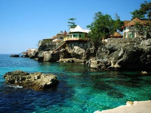 Negril Jamaica Most Beautiful Turquoise Waters If You Go Visit Rick 39 S Cafe To See The Cliff