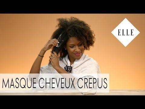 ELLE BEAUTY – Tuto: Comment mettre un masque sur les cheveux crépus? – Yo … ….   – Cheveux Crépus