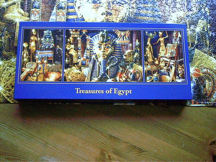 TREASURES OF EGYPT  1x1000 2x500 pce TRIPLE JIGSAW PUZZLE   express gifts  #expressgifts