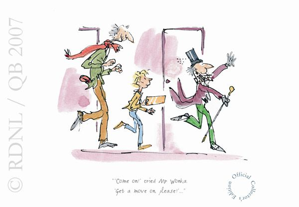 charlie and the chocolate factory quentin blake illustrations -