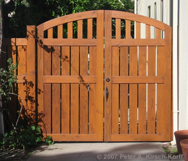 1000+ Ideas About Fence Gate Design On Pinterest