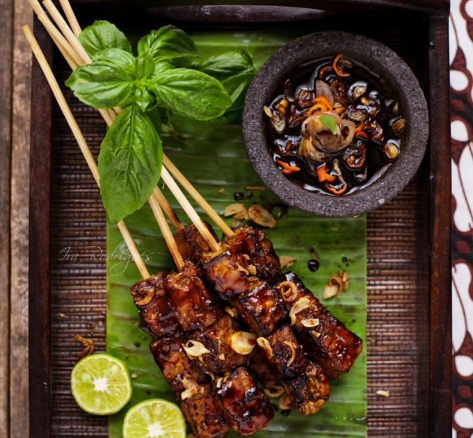 Grilled Tempeh - Indonesian Recipe