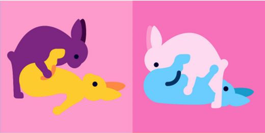'Bunnies Doing It' Are The Sexy Easter Emojis You Didn't Know You Needed
