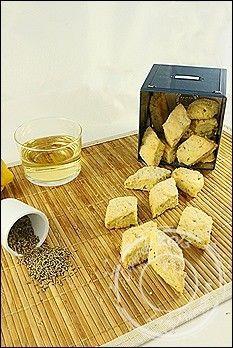 Canistrellis - biscuits corses à l'anis et au vin blanc, à l'huile d'olive