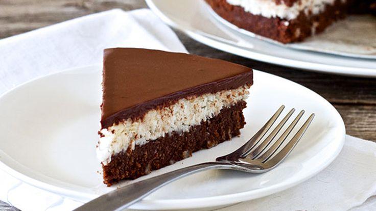 Kókuszkrémes torta, amit nem tudsz elrontani!