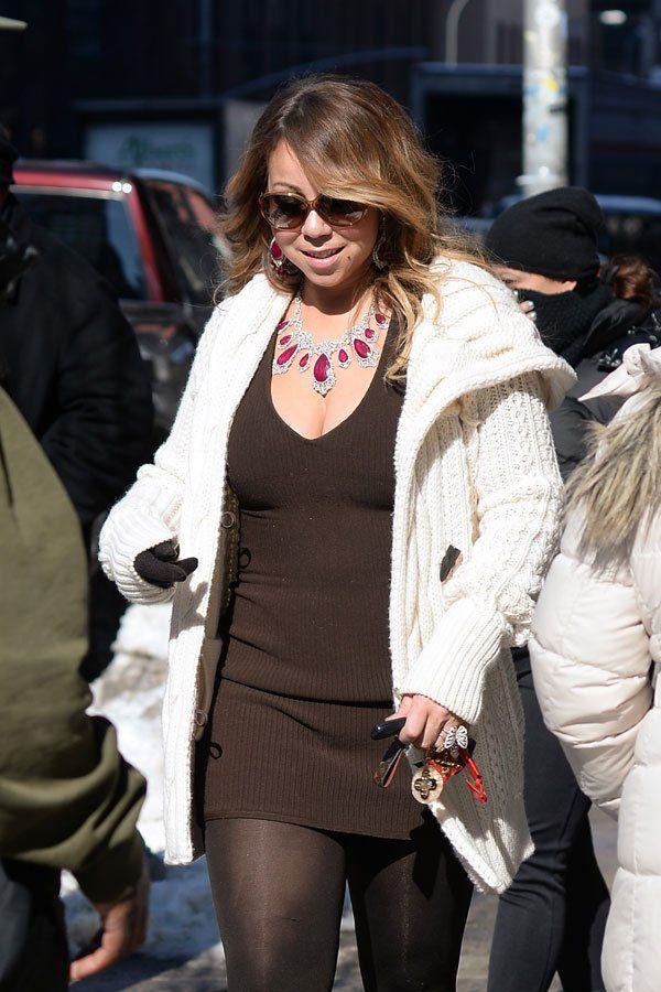 Mariah Carey Weight Gain — Singer Gorging On Pizza, Ice Cream After Divorce | Radar Online