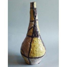 Ceramic Vase glazed by hand, made by master Alessandro Aprea