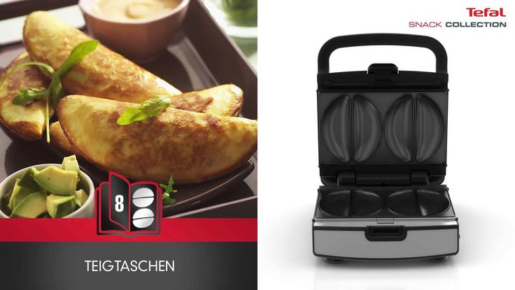 TEFAL SW852D Snack Collection  - das Maximum an Vielseitigkeit!