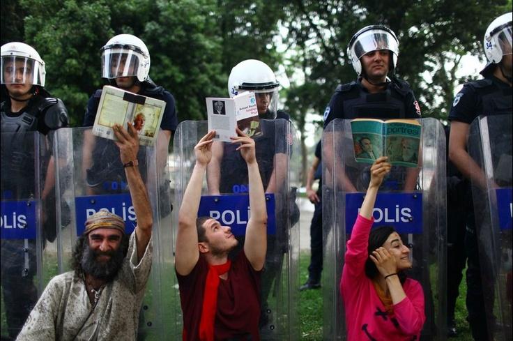 Taksim Gezi Park Protest #Istanbul #Turkey