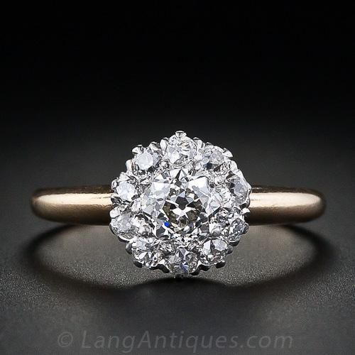 25 Best Ideas About Cluster Diamond Rings On Pinterest