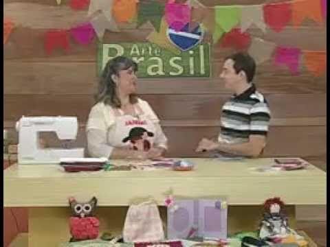 ARTE BRASIL - ANGÉLICA SCHMITT - ABAFADOR DE CHÁ (13/06/2011 - Parte 1 d...