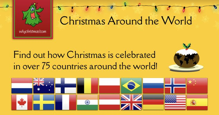 Find out how Christmas is celebrated in lots of different countries around the world!