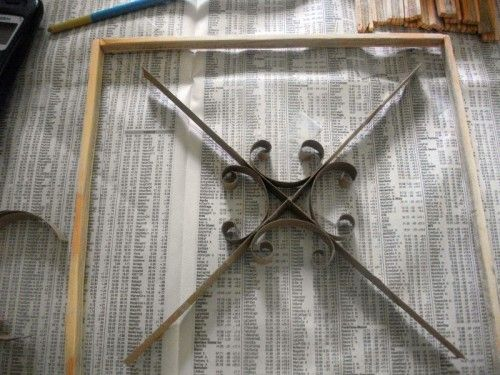 DIY Faux Wrought Iron Wall Art | Shelterness