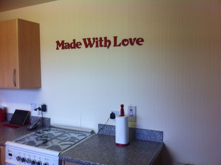 Made with mdf