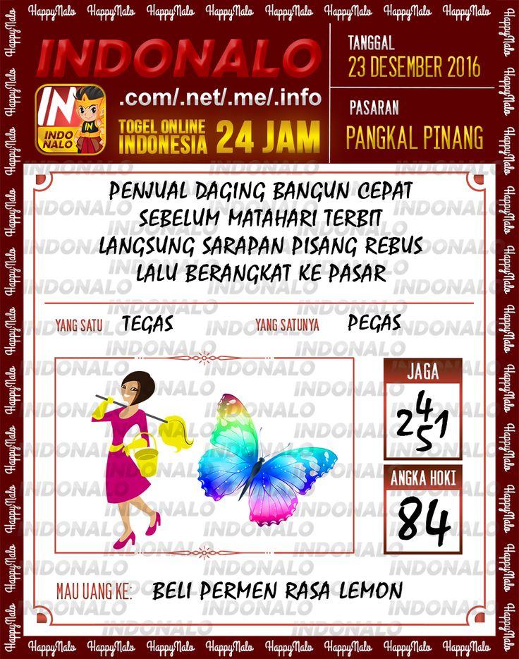 Angka Main 6D Togel Wap Online Live Draw 4D Indonalo Pangkal Pinang 23 Desember 2016