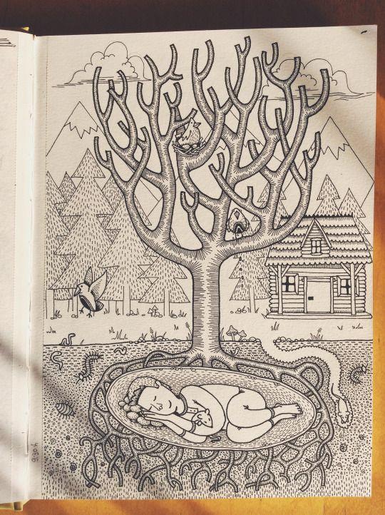 The Unfinished Sketchbook