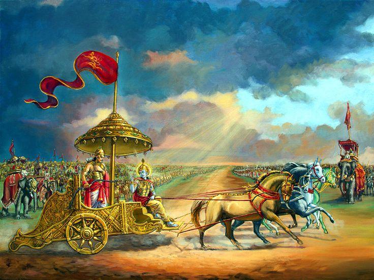 Krishna Arjuna Wallpapers Full Size
