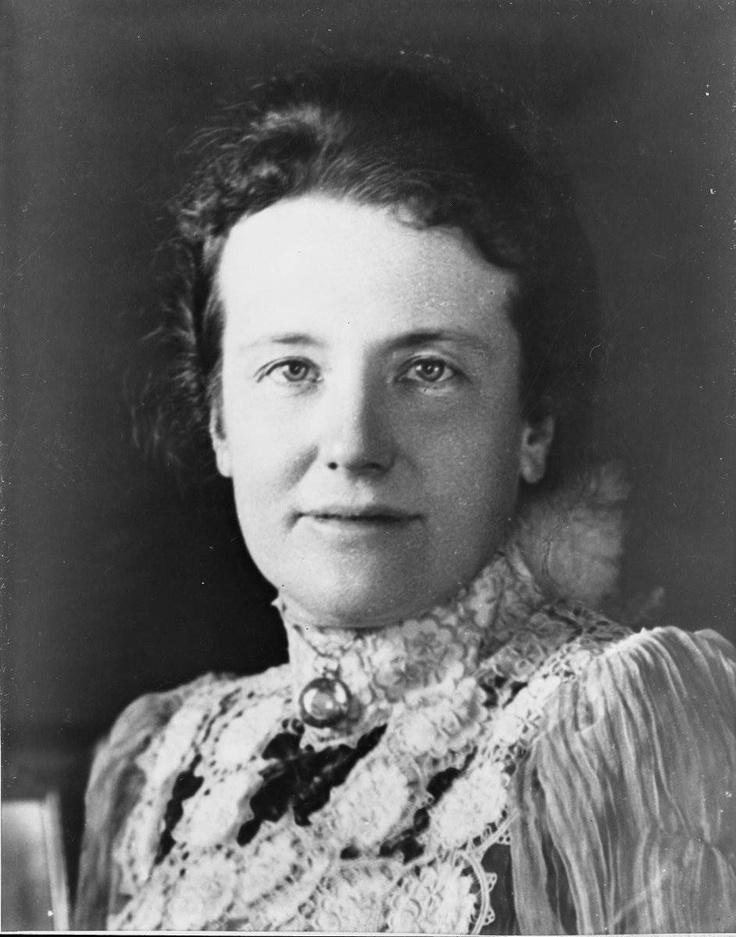Edith Kermit Carow Roosevelt, wife of President Theodore Roosevelt