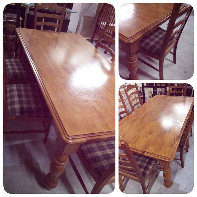 For Sale Dining Table Wood For 6 Chair Good Condation Price 85 Bd للبيع طاولة خشب صناعة ماليزية بحالة جدا ممتازة السعر 85 Home Decor Decor Furniture