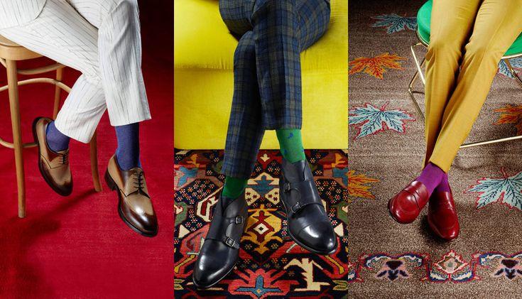 Nulla stride più di un calzino inadeguato al look e sbagliare la scelta, o l'abbinamento, è imperdonabile per un gentiluomo. Ecco 12 consigli per scegliere le calze e evitare passi...