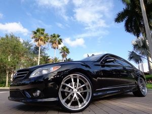 "Mercedes CL500 with 22"" Deep Dish Rims"