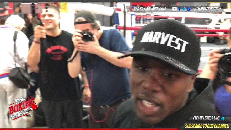 Andre Berto On Using His Uppercut On Shawn Porter Forced to Demonstrate ...