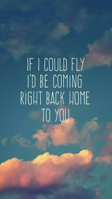 If I Could Fly // One Direction Lyrics