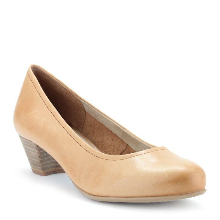 Natúr színű Tamaris cipő, ANTiShokk | ChiX.hu cipő webáruház Natúr színű Tamaris cipő 4 cm magas ANTiShokk sarokkal. Az ANTiShokk saroknak is köszönhetően a megszokott Tamaris kényelmet biztosítja. Márka: Tamaris Szín: Nature Modellszám: 1-22305-24 318