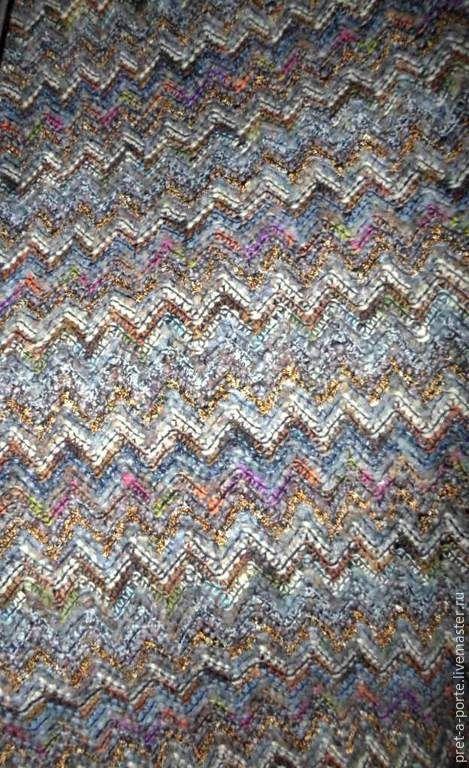 Купить MISSONI шерстяной трикотаж, Италия - итальянские ткани, итальянский стиль, шерсть 100%