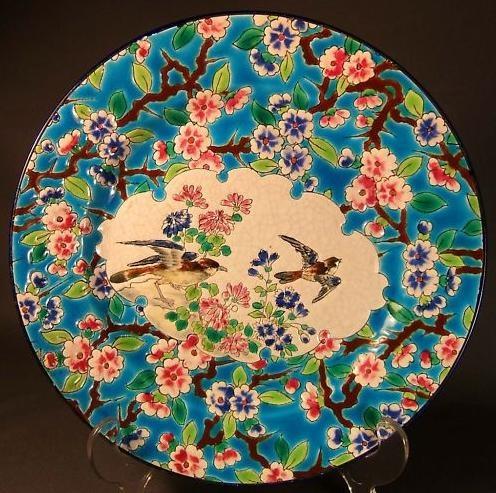 1870-1910 Longwy assiette