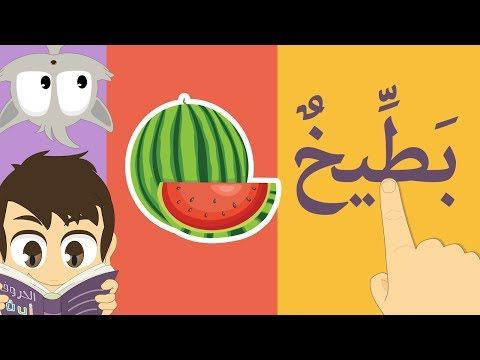 Arabic Letters with fatha (sign) For Holy Quran Lesson 1 Part 3