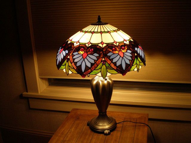 Tiffany Lamp. I have this lamp but different base (better).