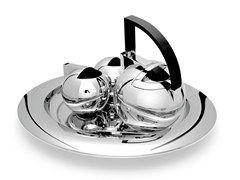 Juego de té de acero inoxidable NIO - OPOSSUM Design