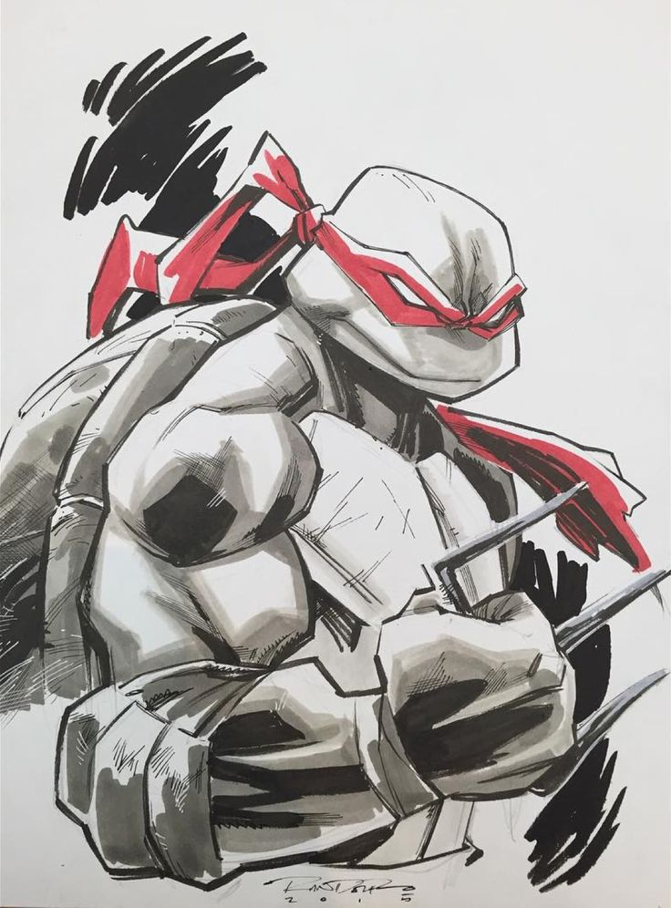 Teenage Mutant Ninja Turtles - Raphael by Khary Randolf *
